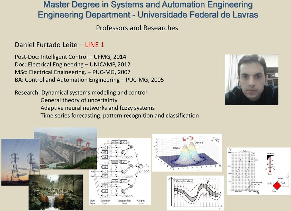 PUC-MG, 2007 BA: Control and Automation Engineering PUC-MG, 2005 Research: Dynamical systems