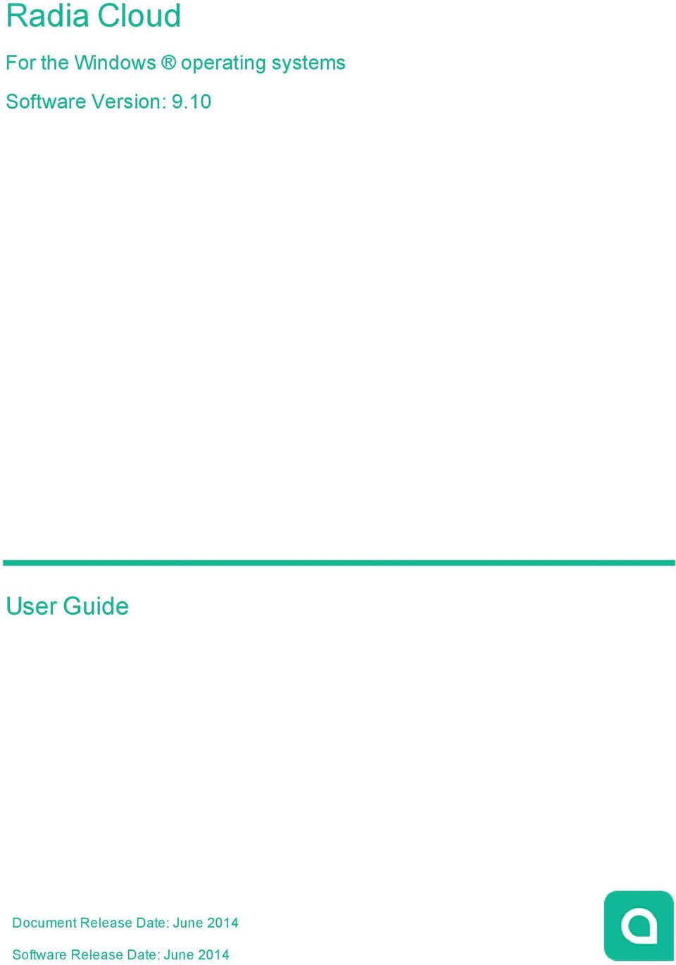 9.10 User Guide Document Release
