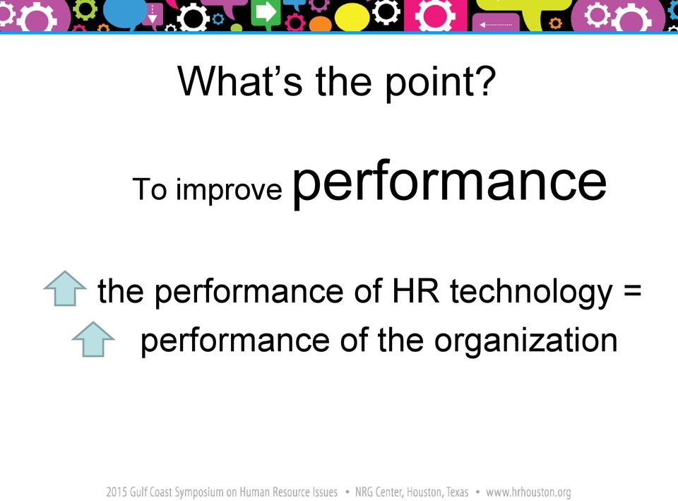 performance of HR