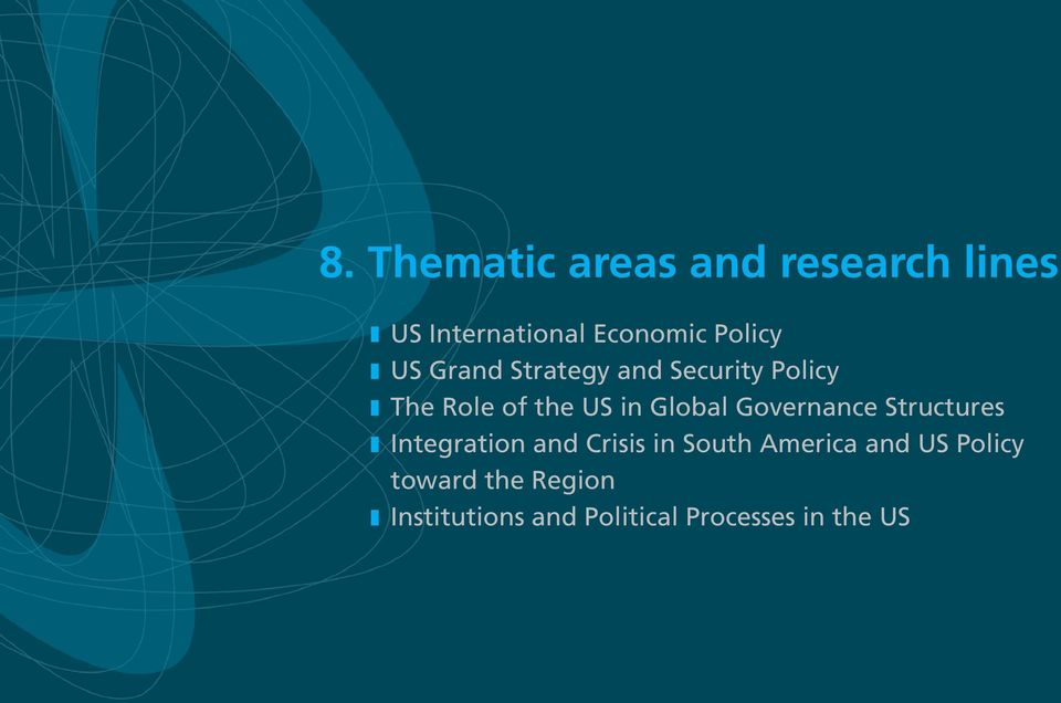 Governance Structures z Integration and Crisis in South America and US