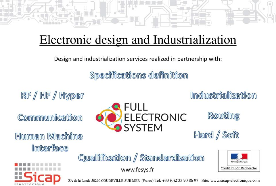 industrialization services