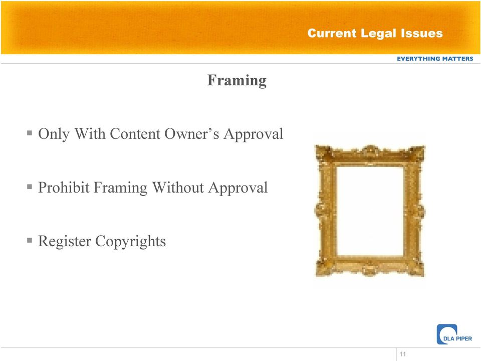 Approval Prohibit Framing