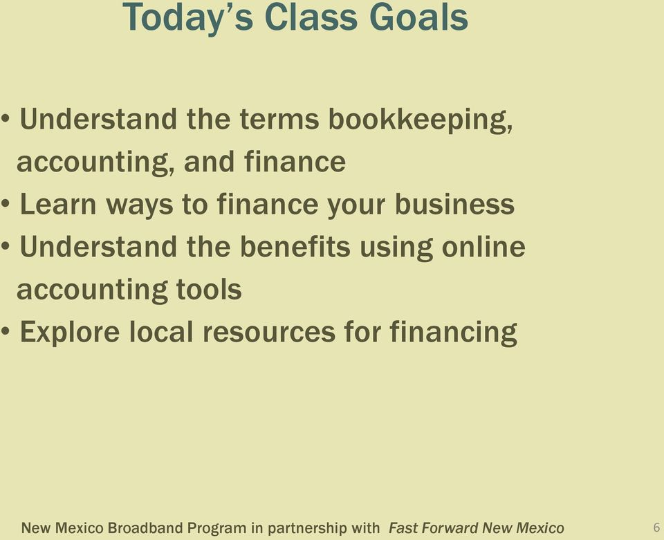 finance your business Understand the benefits using