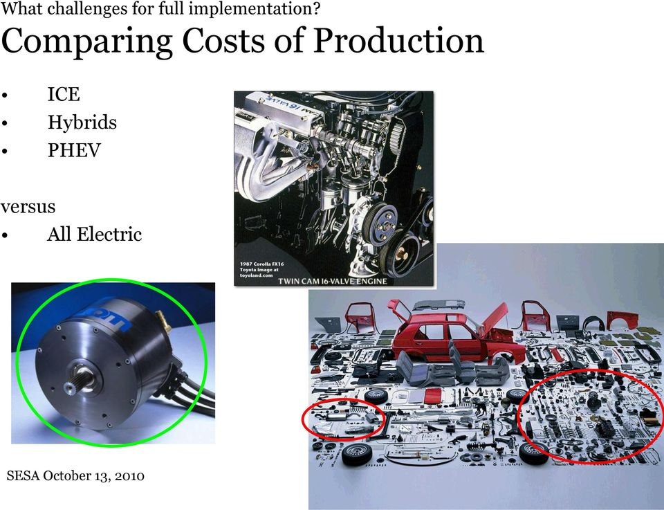 Comparing Costs of Production