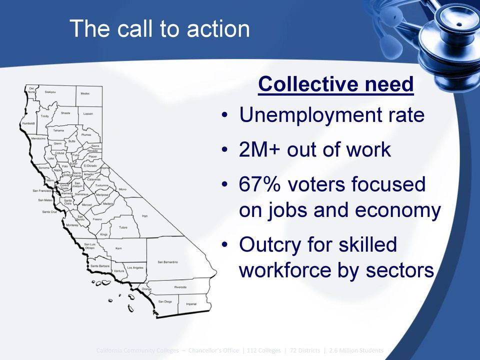 skilled workforce by sectors California Community Colleges