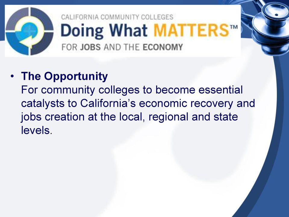 California s economic recovery and jobs
