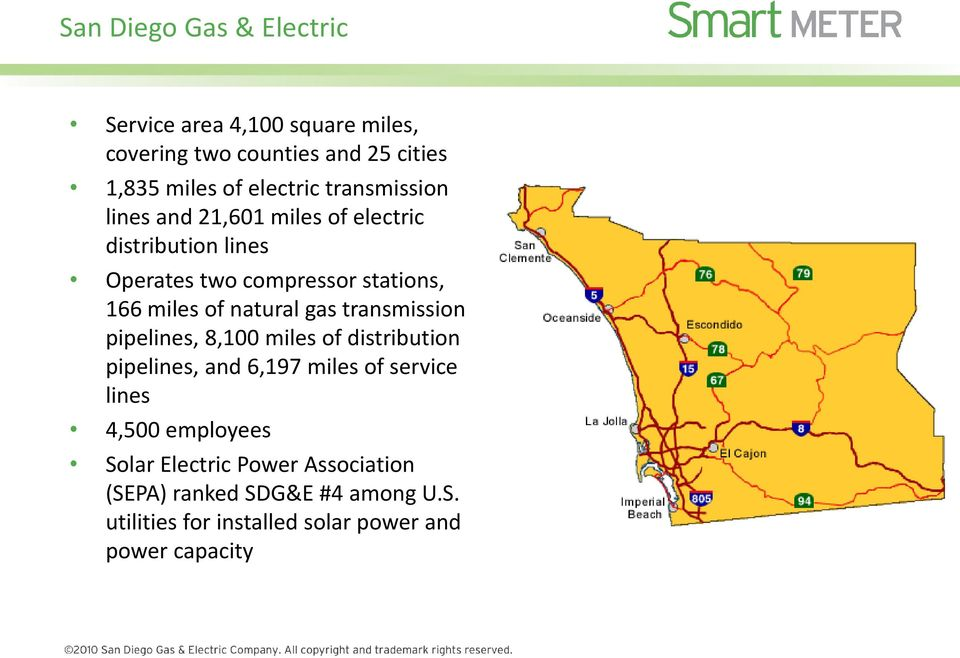 natural gas transmission pipelines, 8,100 miles of distribution pipelines, and 6,197 miles of service lines 4,500