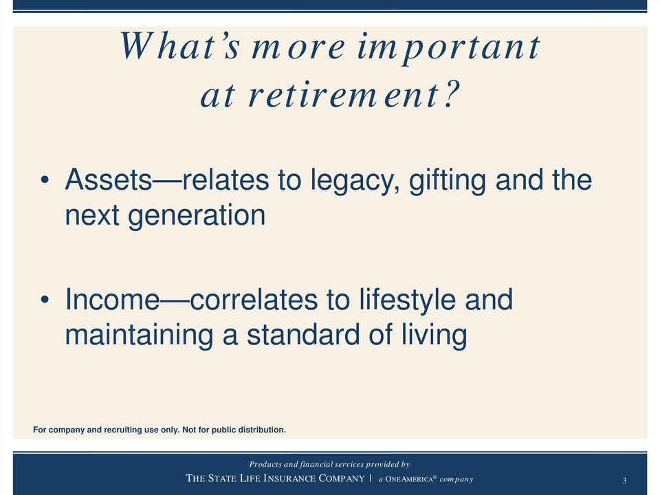 the next generation Income correlates to