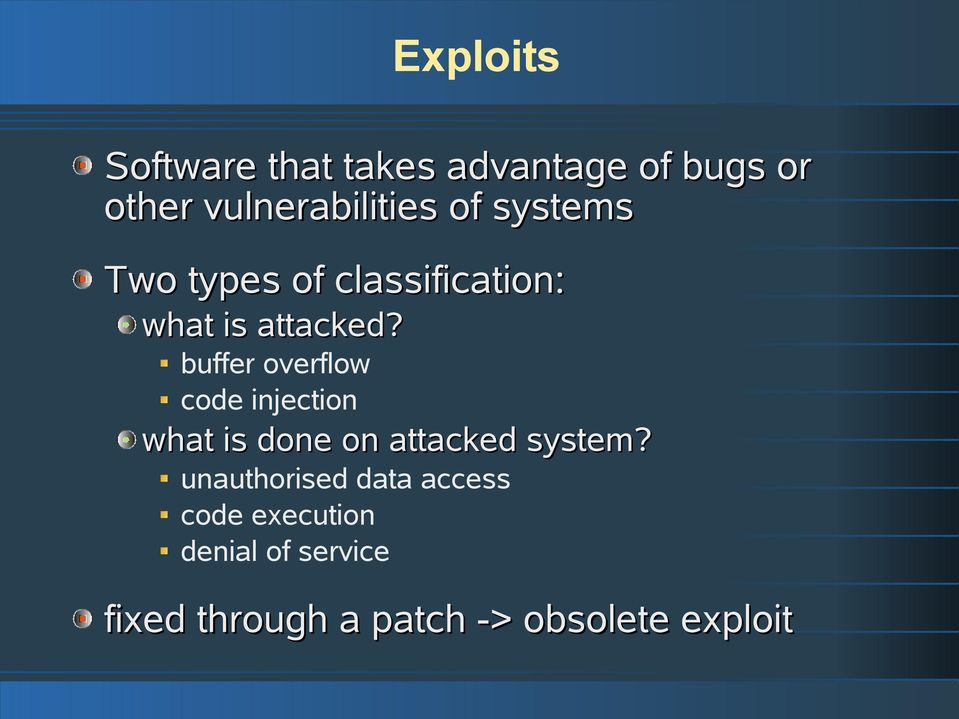 buffer overflow code injection what is done on attacked system?
