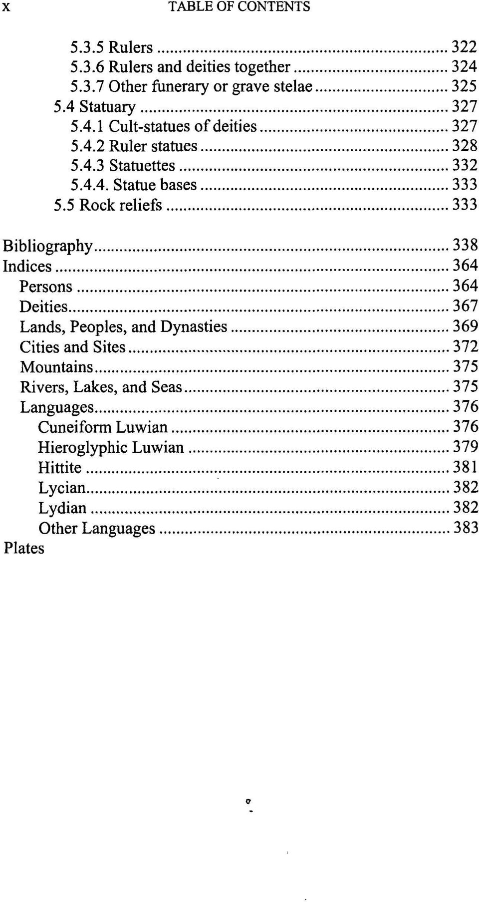 5 Rock reliefs 333 Bibliography 338 Indices 364 Persons 364 Deities 367 Lands, Peoples, and Dynasties 369 Cities and Sites 372