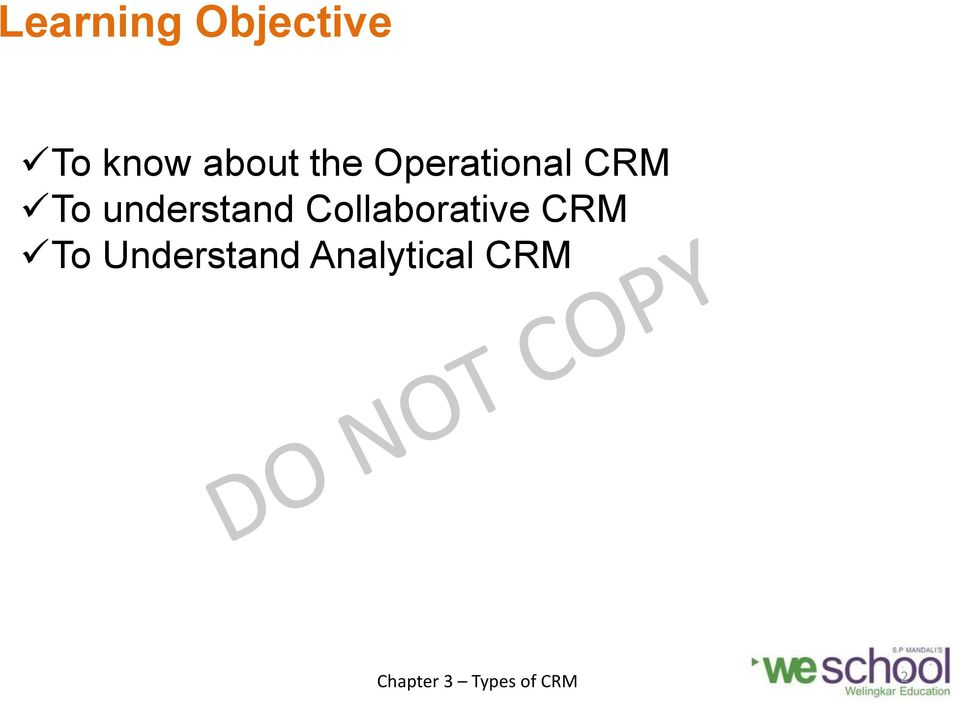 understand Collaborative CRM