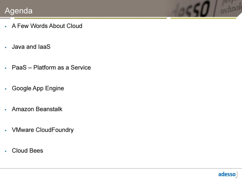 Service Google App Engine Amazon