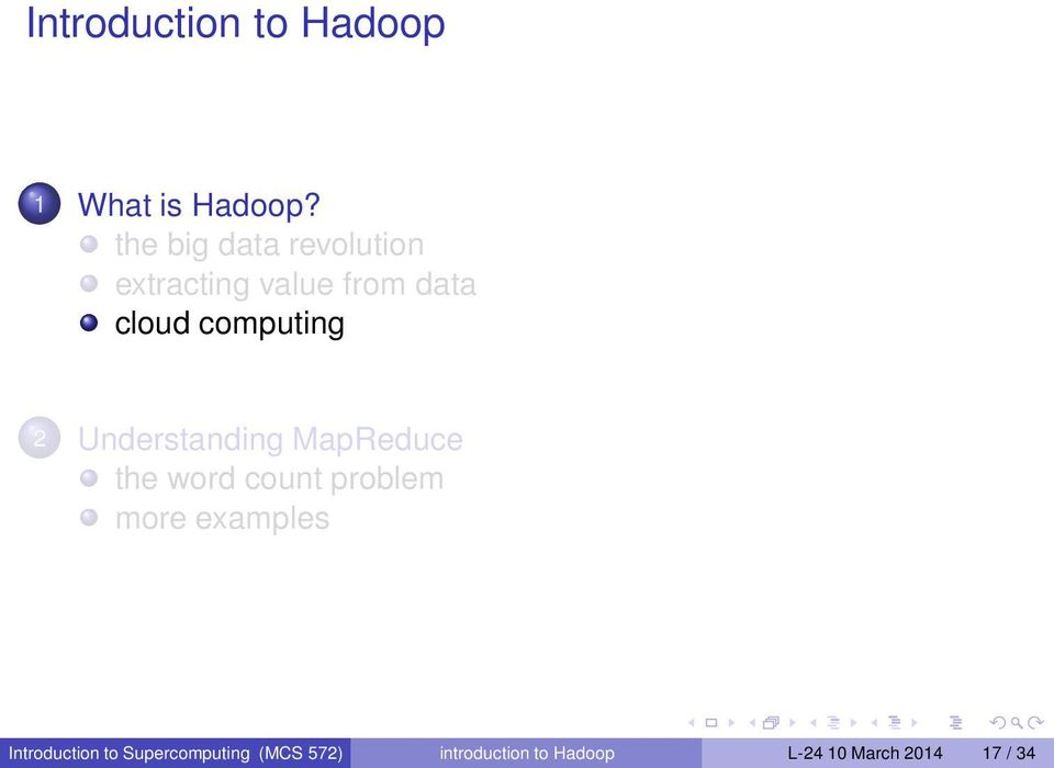 computing 2 Understanding MapReduce the word count problem more