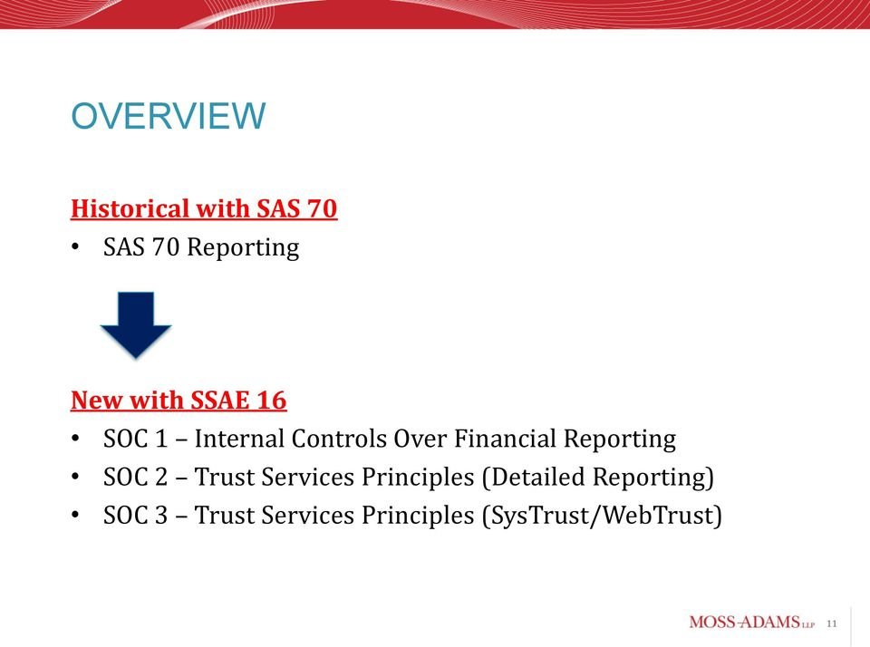 Reporting SOC 2 Trust Services Principles (Detailed