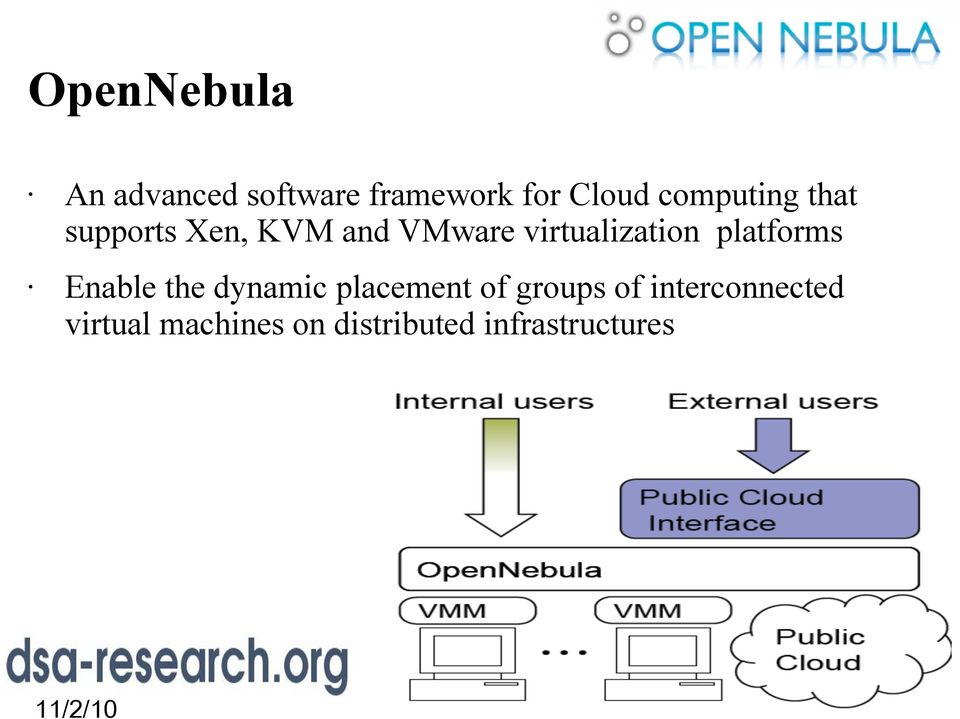 virtualization platforms Enable the dynamic placement of