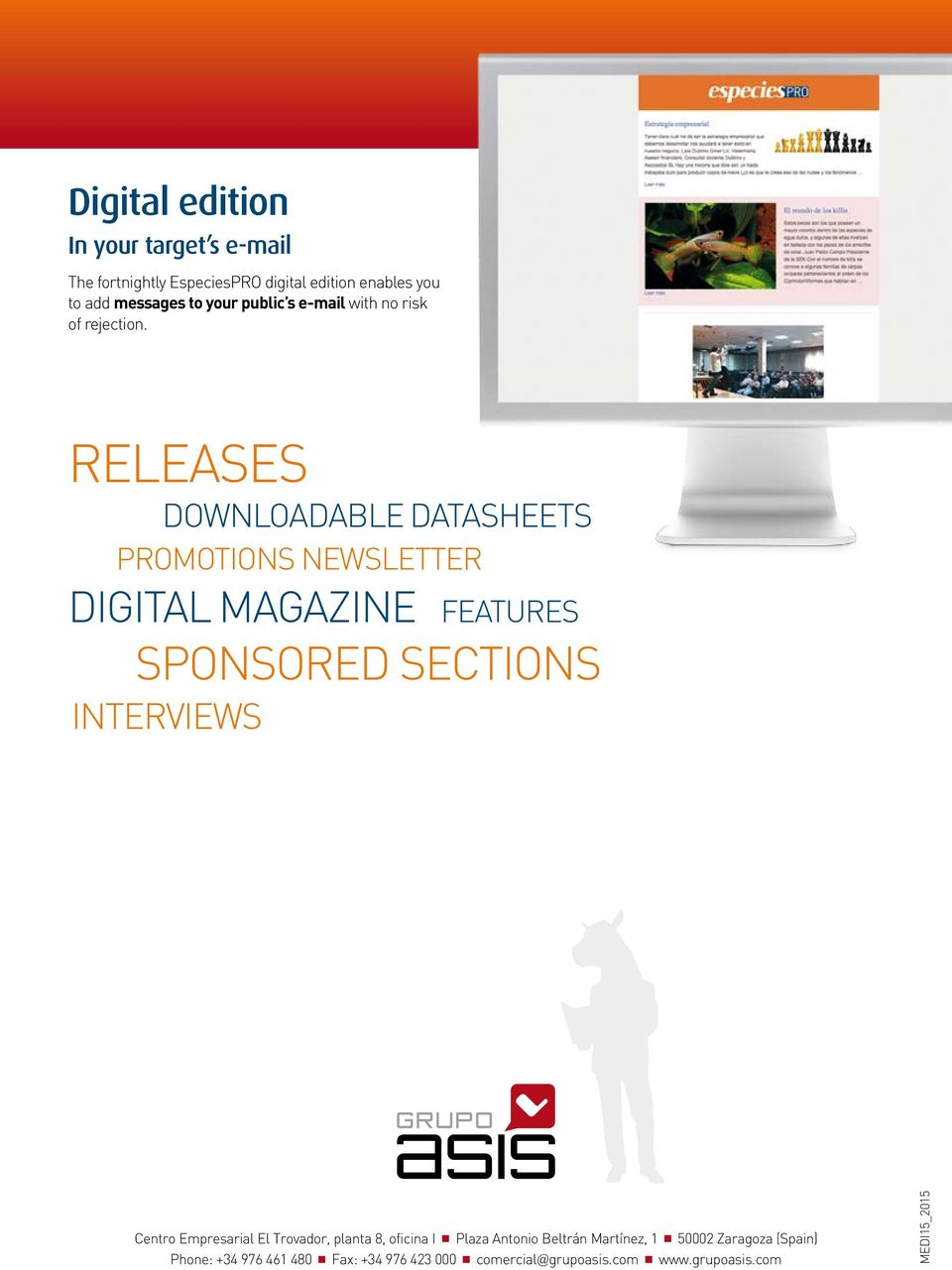 RELEASES DOWNLOADABLE DATASHEETS PROMOTIONS NEWSLETTER DIGITAL MAGAZINE FEATURES SPONSORED SECTIONS INTERVIEWS Centro