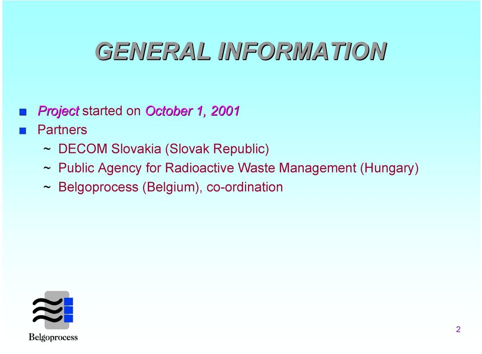~ Public Agency for Radioactive Waste Management