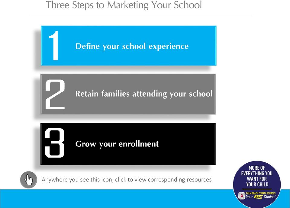 your school Grow your enrollment Anywhere you see