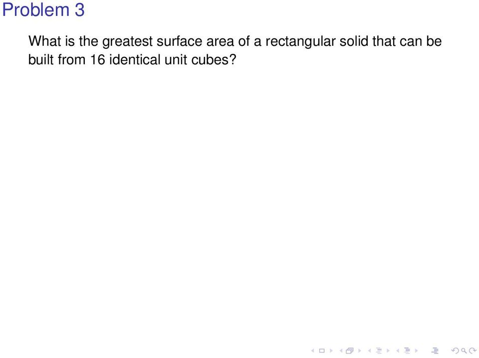 rectangular solid that can