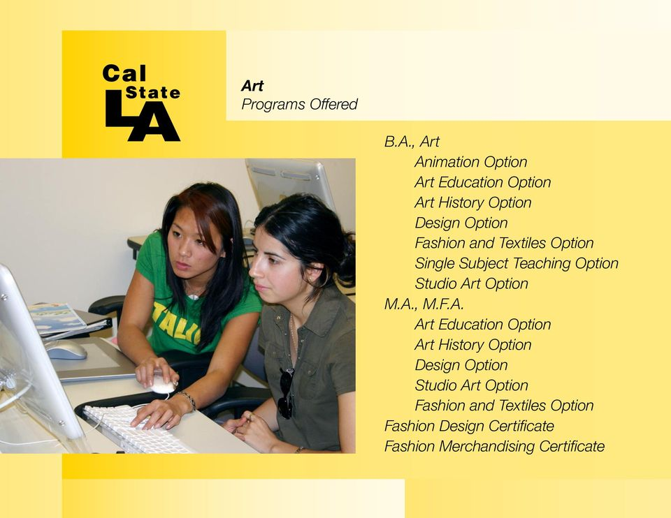 College Of Arts And Letters Cal State L A Creating The Future For Los Angeles Pdf Free Download