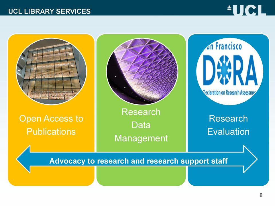 Research Evaluation Advocacy