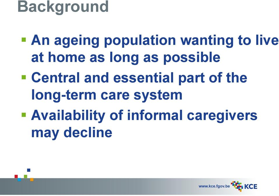 essential part of the long-term care system