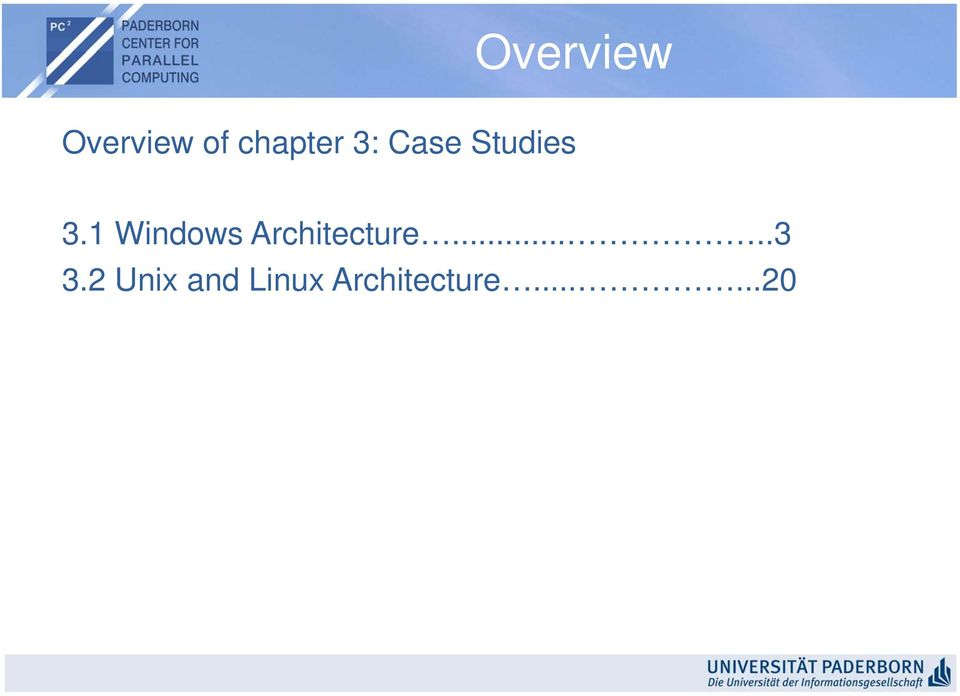 1 Windows Architecture.....3 3.