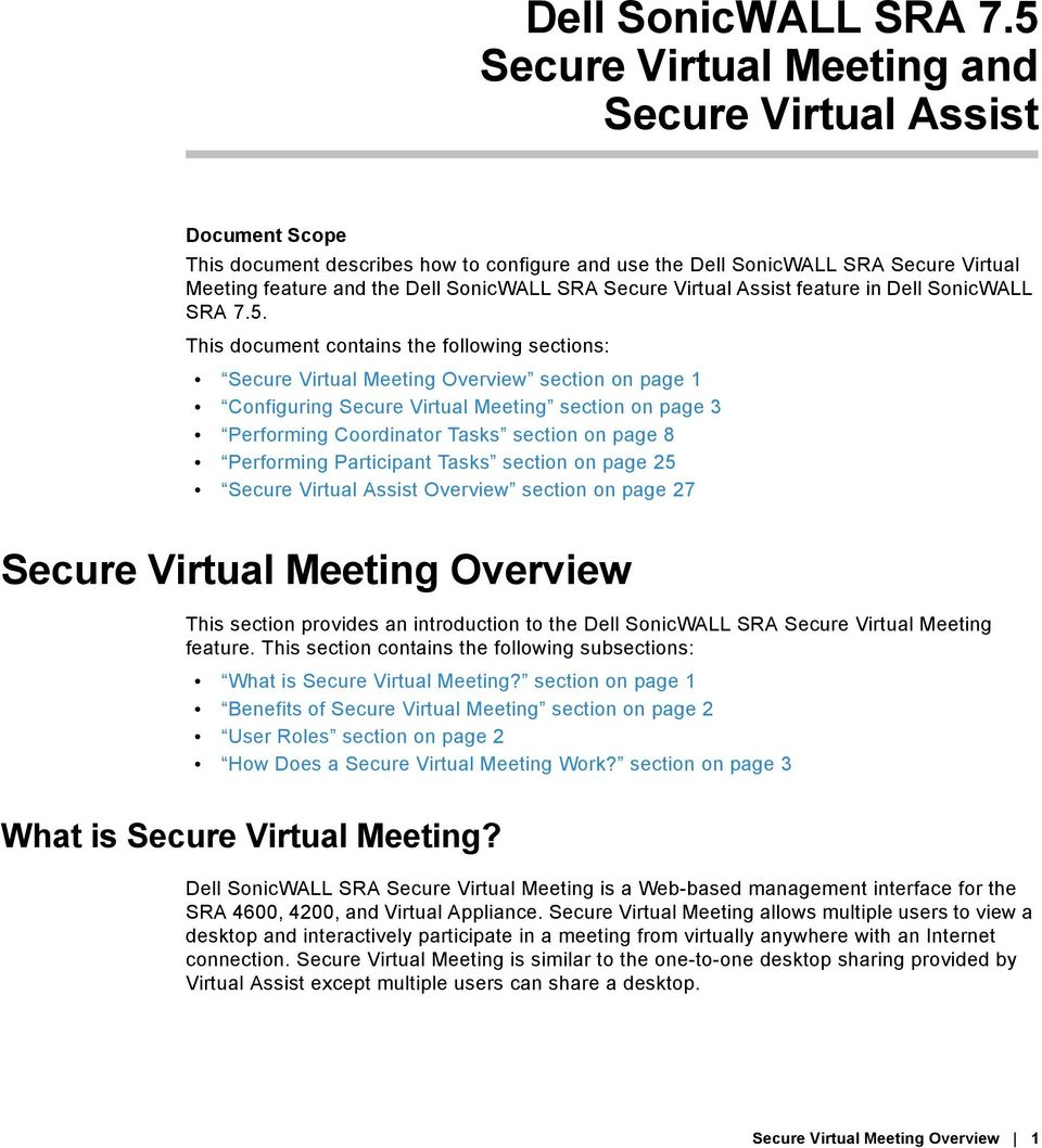 Secure Virtual Assist feature in 5.