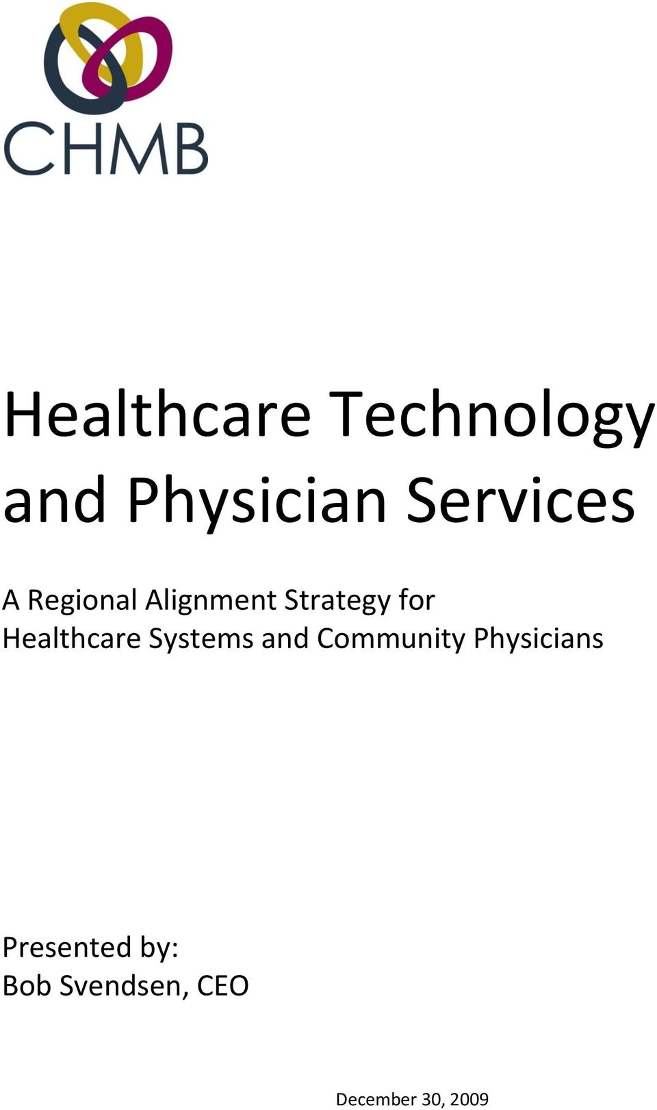 Healthcare Systems and Community