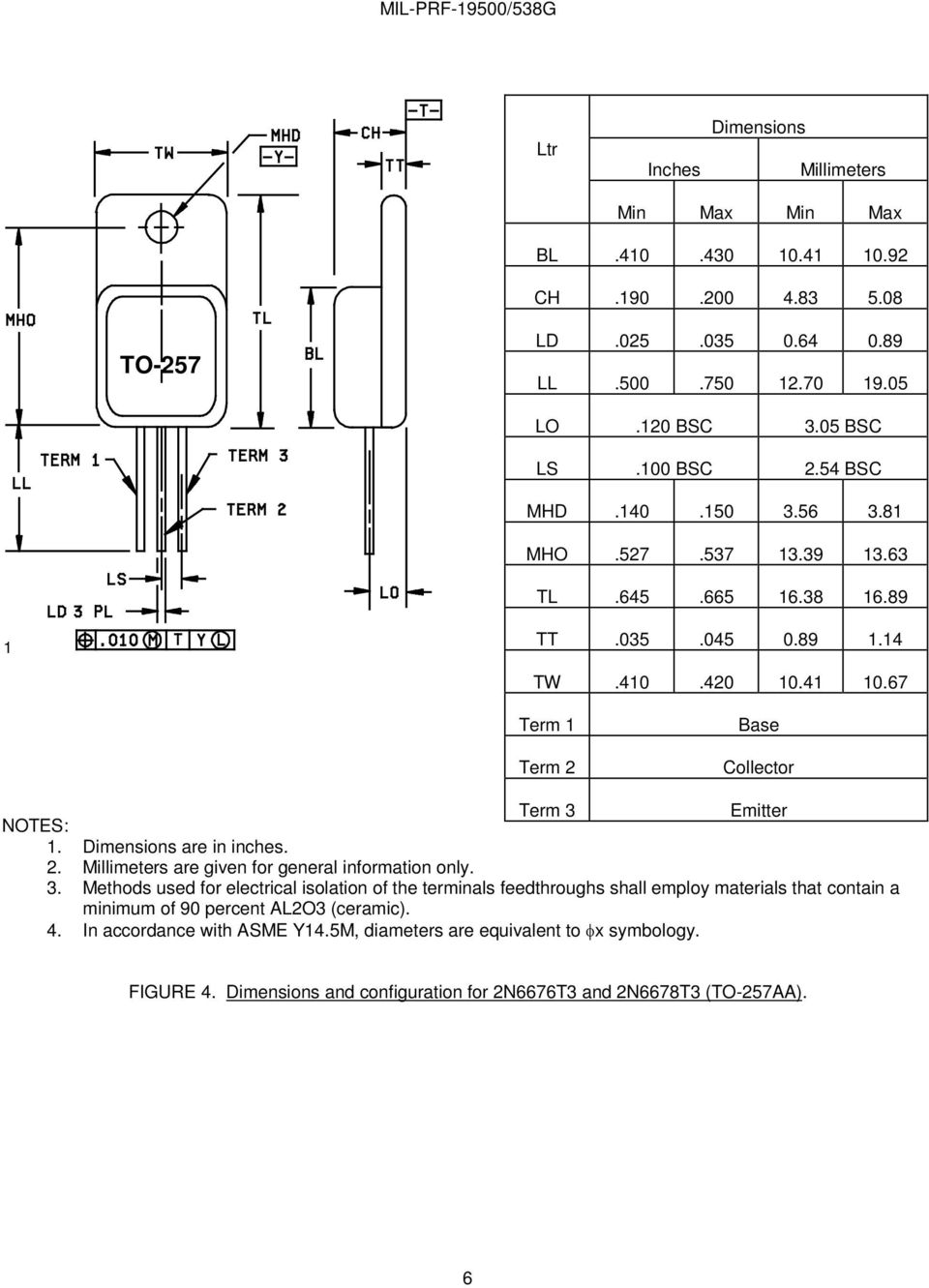 Performance Specification Sheet Pdf Light Relay Switch By Bc547 Amp Bc337 Dimensions Are In Inches 2 Millimeters Given For General Information Only 3