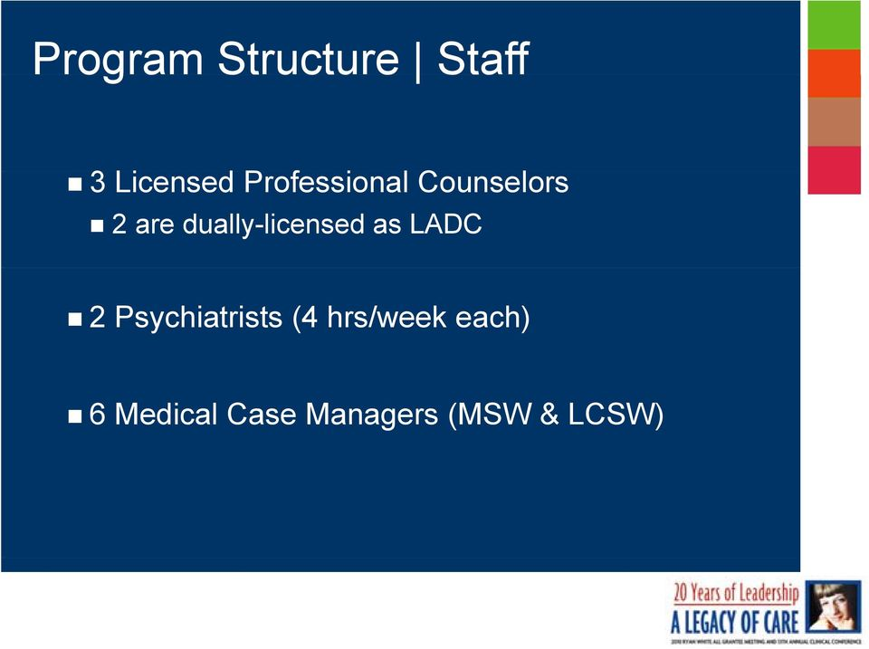dually-licensed as LADC 2 Psychiatrists