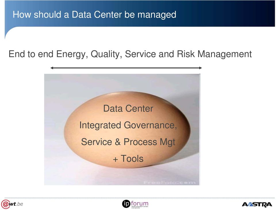 and Risk Management Data Center