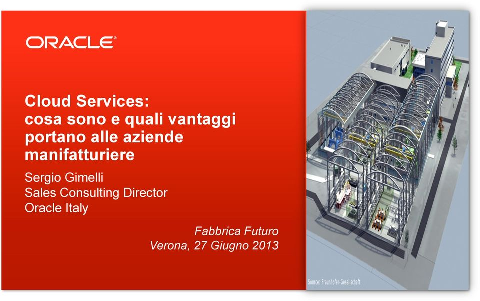 Gimelli Sales Consulting Director Oracle