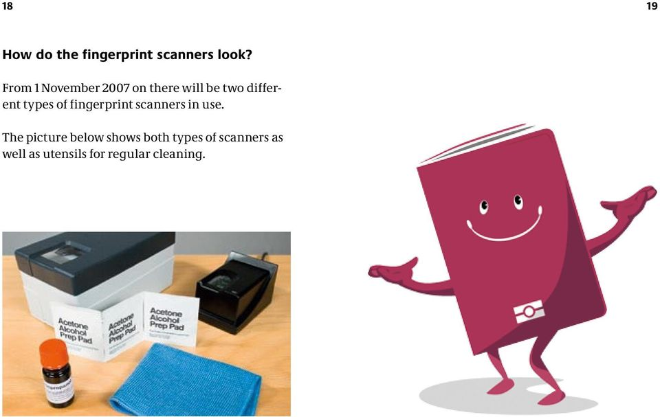 types of fingerprint scanners in use.