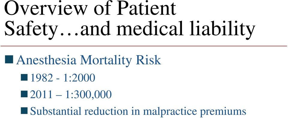 Mortality Risk 1982-1:2000 2011