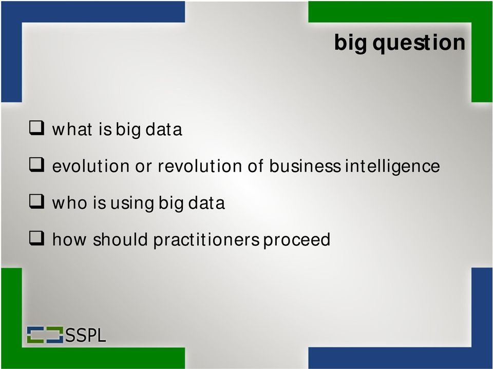 business intelligence who is