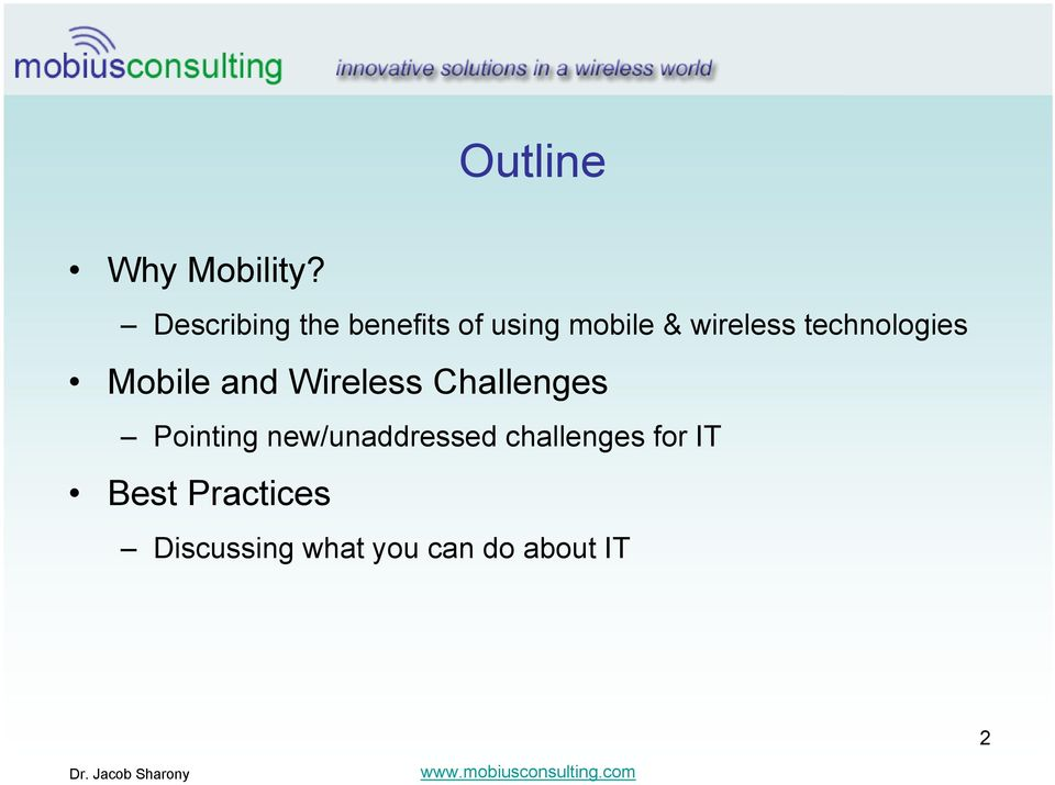 technologies Mobile and Wireless Challenges Pointing