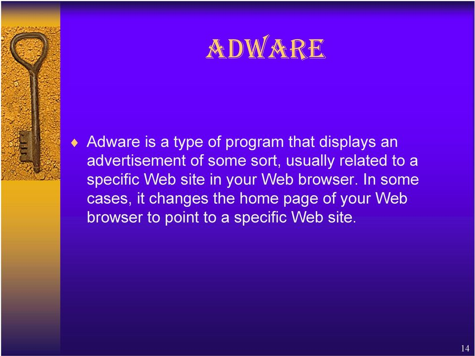 Web site in your Web browser.