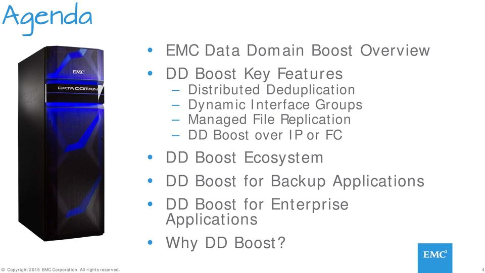 over IP or FC Ecosystem for Backup Applications for Enterprise