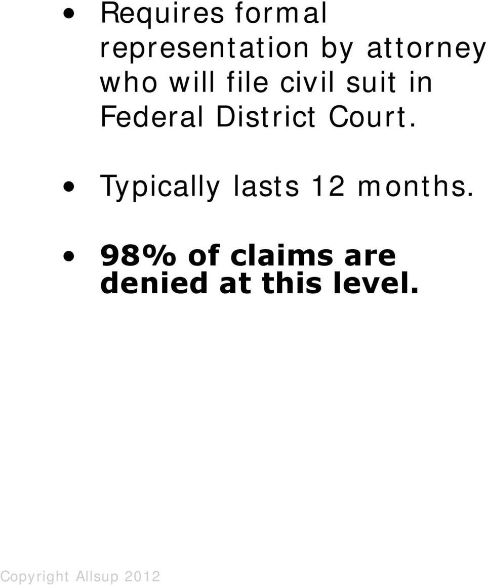 civil suit in Federal District Court.