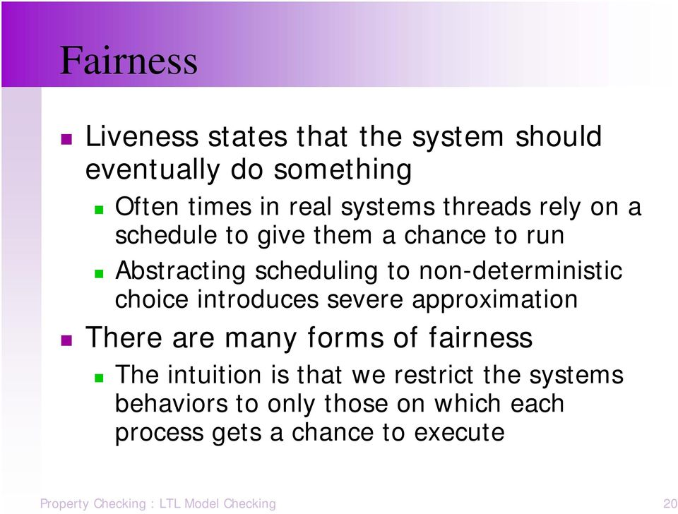 introduces severe approximation There are many forms of fairness The intuition is that we restrict the