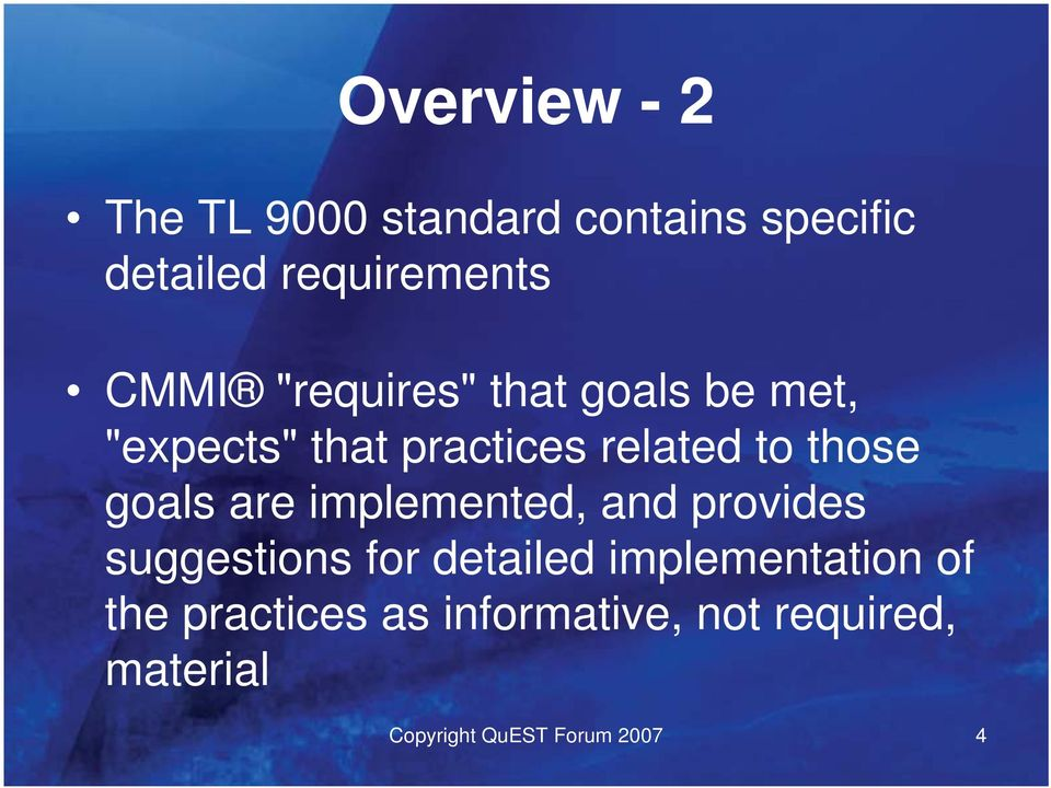 goals are implemented, and provides suggestions for detailed implementation