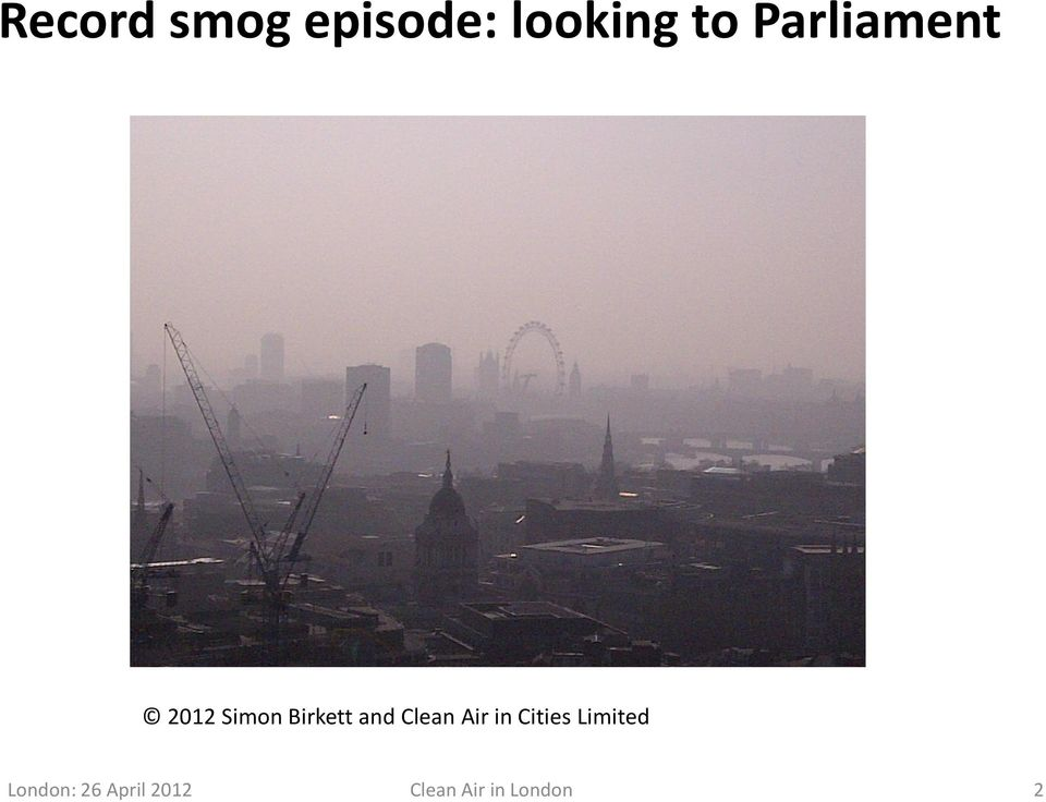 Clean Air in Cities Limited