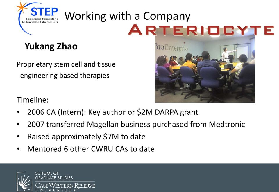 $2M DARPA grant 2007 transferred Magellan business purchased from