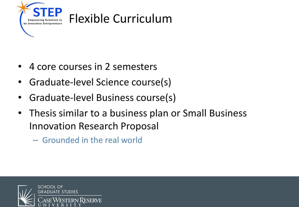 Business course(s) Thesis similar to a business plan or