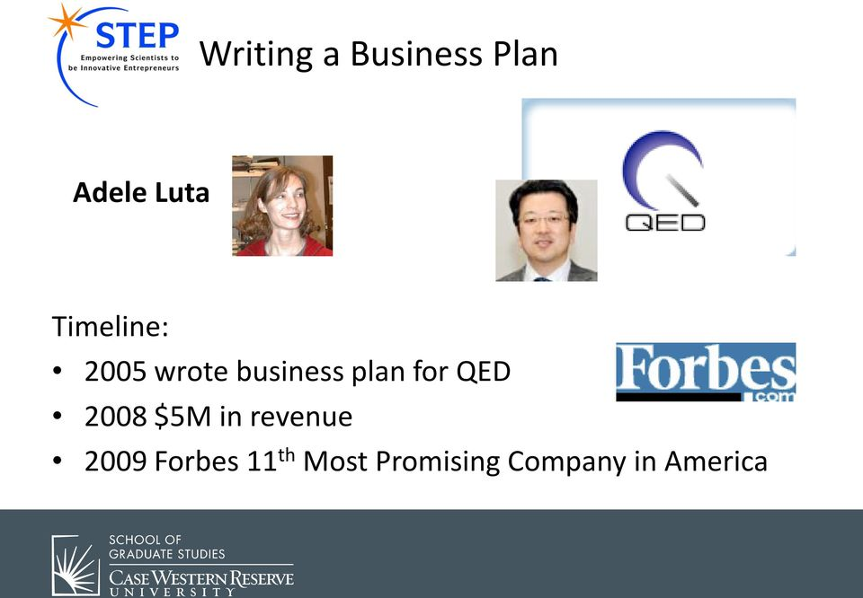 for QED 2008 $5M in revenue 2009