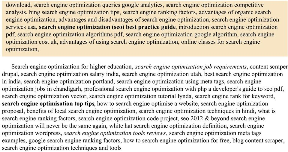 introduction search engine optimization pdf, search engine optimization algorithms pdf, search engine optimization google algorithm, search engine optimization cost uk, advantages of using search