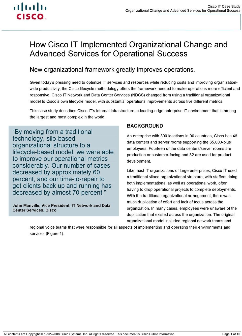 operations more efficient and responsive.