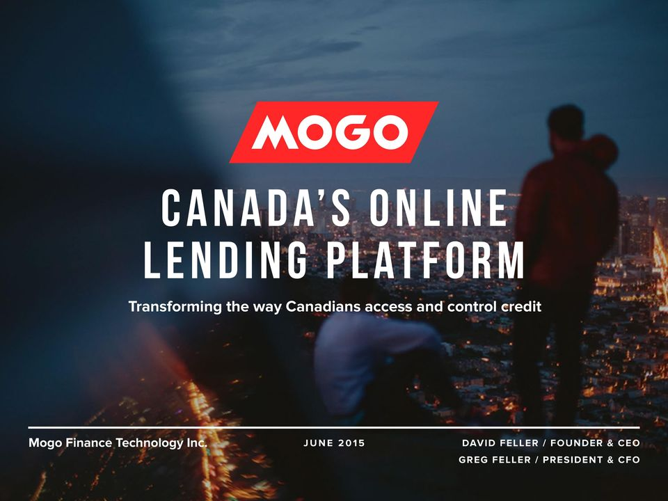 Mogo Finance Technology Inc.