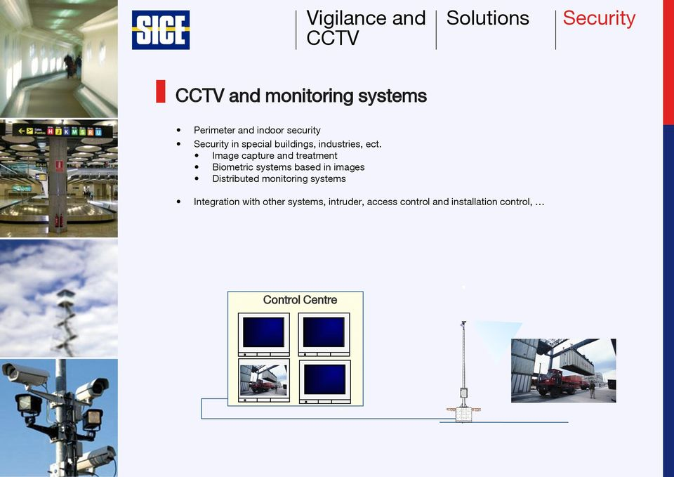 Image capture and treatment Biometric systems based in images Distributed